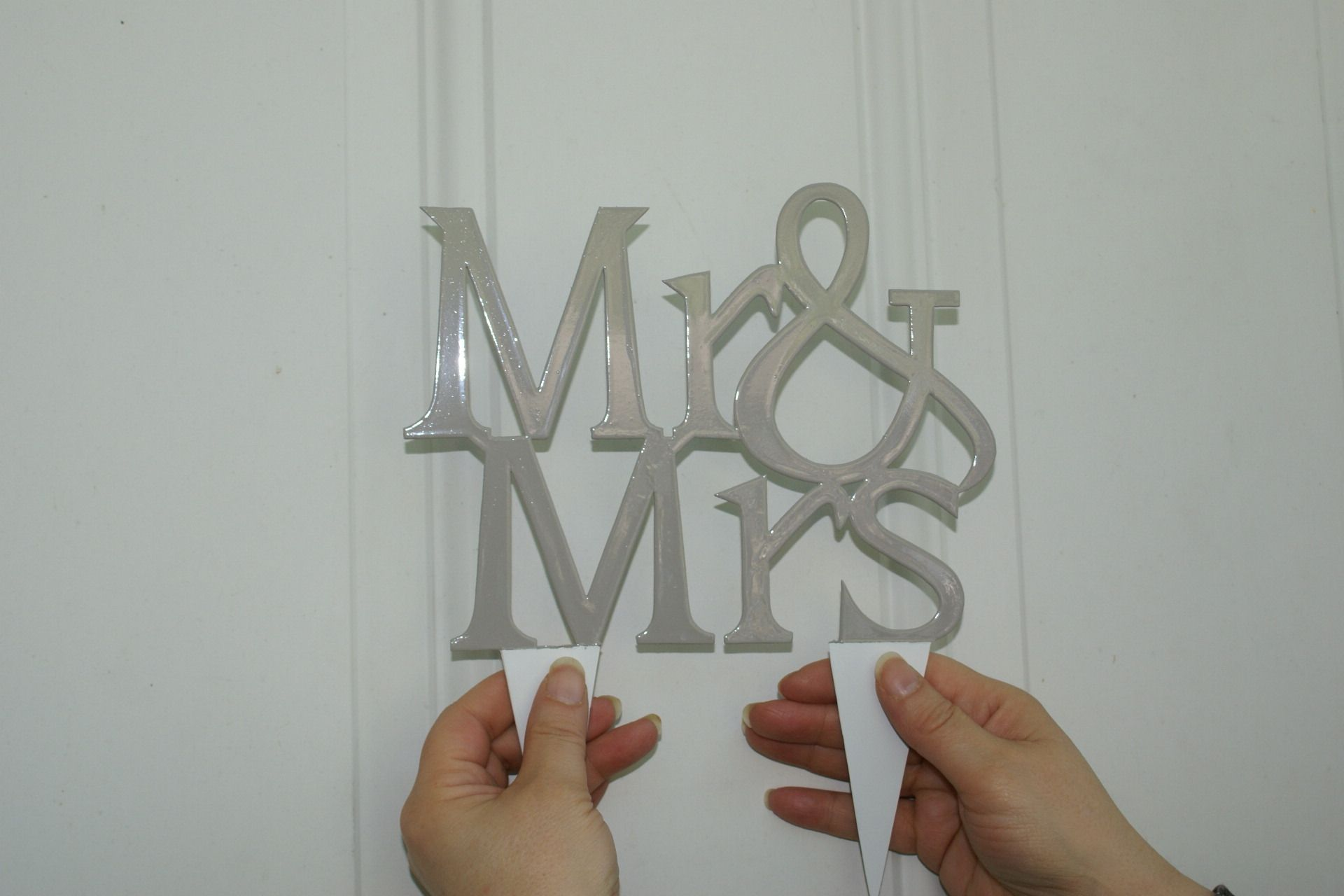 Hand Crafted Cake Topper Word Letter Wedding Birthday