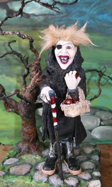 Custom Made Witch Sculpture