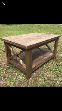 Custom Made Beautiful Distressed Dining Room Table