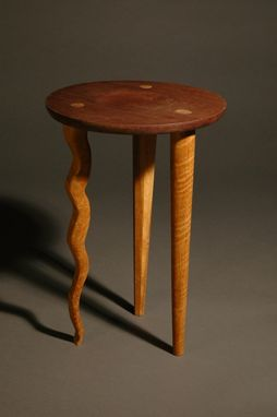 Custom Made Wavy Leg Table