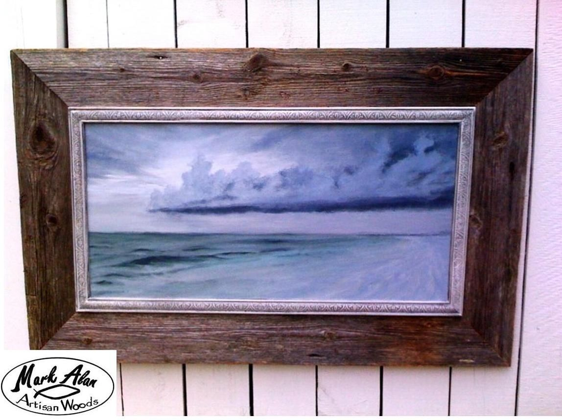 custom made barn wood frames