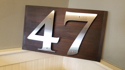 Custom Made Address Signs