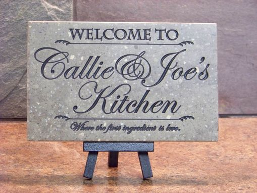 Custom Made Custom Wedding Gift For The Kitchen