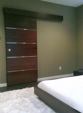 Custom Made Floating Queen Size Platform Bed
