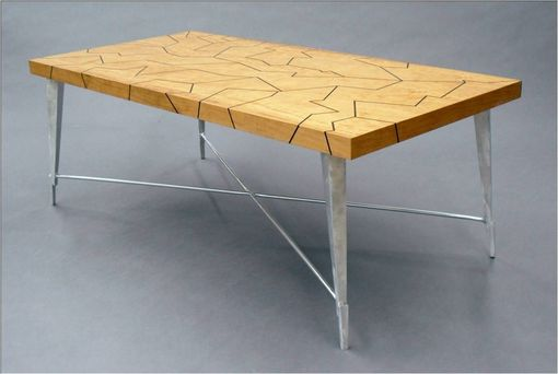 Custom Made Shattered Coffee Table