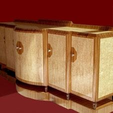 Custom Made Art Deco Sideboard
