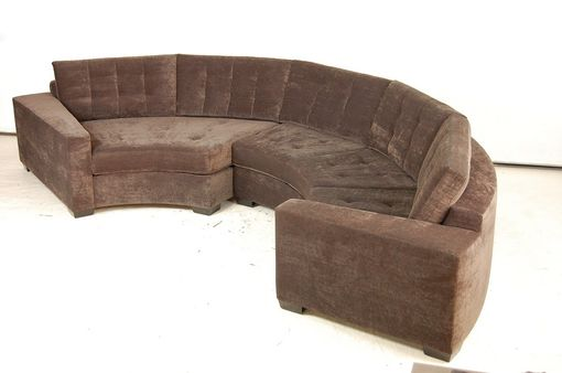 Custom Made Crescent Sectional