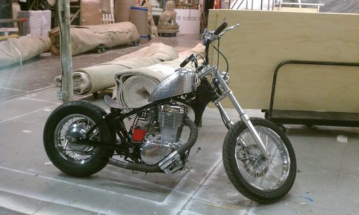 Custom Made 1986 Suzuki Savage Ls650 Custom Bobber