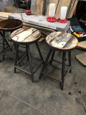 Custom Made Kitchen Counter Stools
