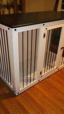 Custom Made Pet Crate Table
