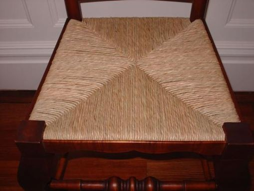 Custom Made Slat Back Chair
