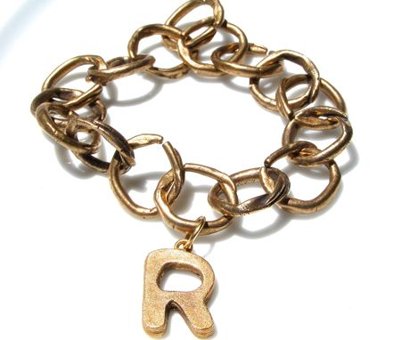 Custom Made Organic Bronze Chain Necklace Bracelet For Men And Women