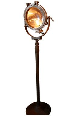 Custom Made Westing House Search Light - Vintage Floor Lamp