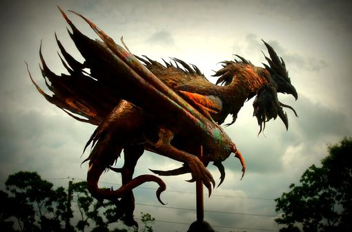 Custom Made They Come To Snuff The Rooster -- Copper Weathervane By David Smith