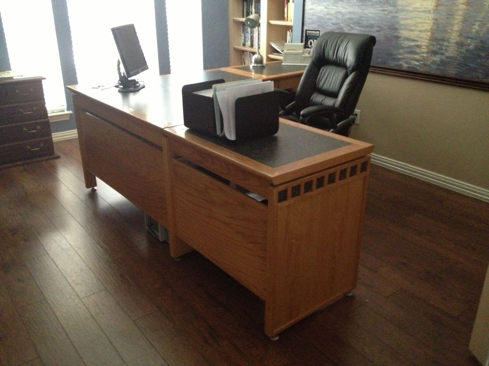 - Handmade Large Computer Desk By Tom's Handcrafted Furniture