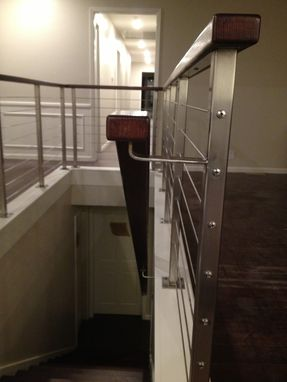 Custom Made Stainless Steel & Cable Railing
