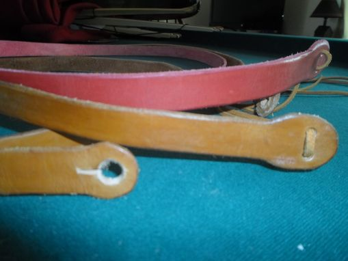 Custom Made Instrument Strap (Guitar Strap / Stick Dulcimer Strap)