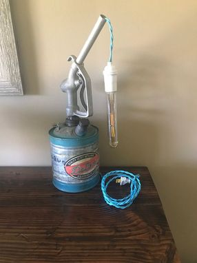 Custom Made Vintage Gas Can Gas Pump Lamp