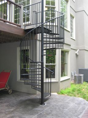 Custom Made Outdoor Spiral Staircase