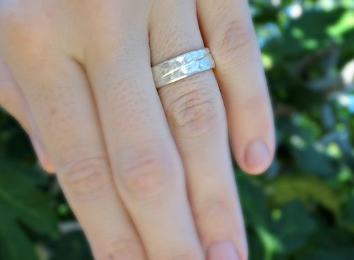 Buy A Custom Made Ocean Inspired Wedding Band Rustic Wave Ring