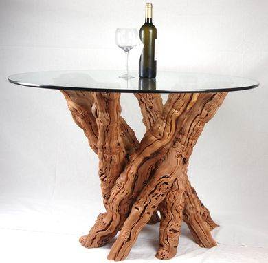 Custom Made Vinya - Calabrese - Old Vine Grapevine Dining Table