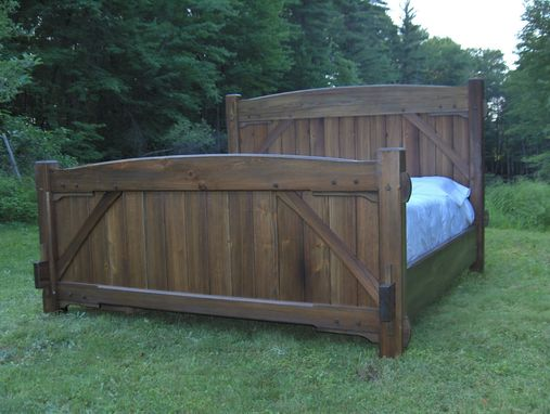 Custom Made Timber Frame Bed