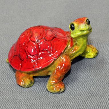"Custom Made Bronze Turtle ""Daden Jr. Turtle"" Tortoise Figurine Statue Sculpture Limited Edition Signed Numbered"