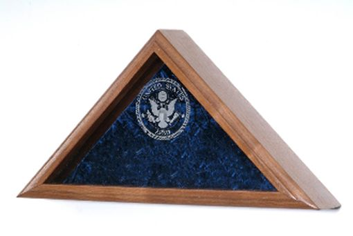 Custom Made Veteran Flag Display Case- Large Flag For 5ft X 9 Ft Flag