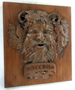 Custom Made Carved Bacchus