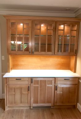 Custom Made Craftsman Style Hutch