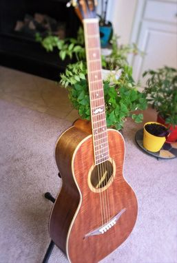 Custom Made Hawkins Parlor Guitar Based On A 1904 Martin Parlor Guitar