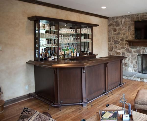 Handmade Family Room Wet-Bar. by Terrapin Woodworking | CustomMade.com