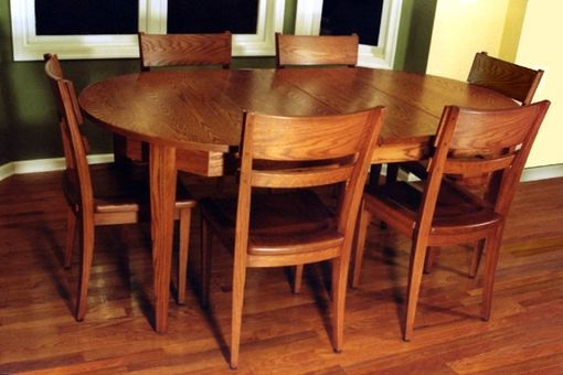 Custom Made Custom Dining Table And Chairs