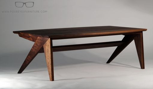 Custom Made Silver Fox - Custom Walnut Coffee Table