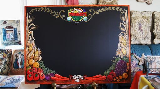 Custom Made Country Style Market Place Chalkboard