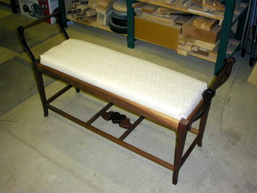 "Custom Made Signature ""With Love"" Boudoir Bench"