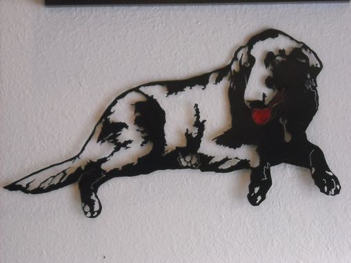 Custom Made Dog Metal Wall Art