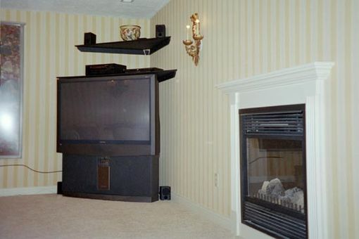 Custom Made Fireplace Mantle And Surround