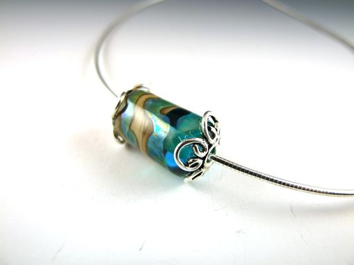 Custom Made Charm Pendant - Warm Waters
