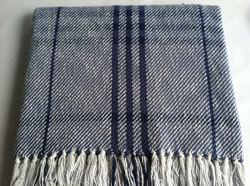 Custom Made Striped Cotton Throw