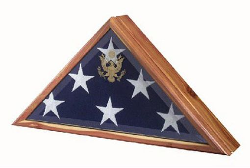 Custom Made Burial Flag Frame - High Quality Flag Frame