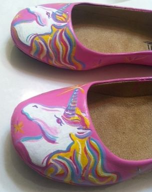 Custom Made Unicorn Shoes