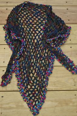 Custom Made New York At Night Shawl