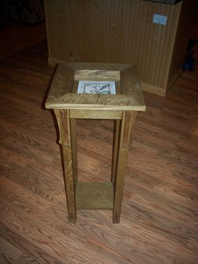 Custom Made Mission Style Plant Stand