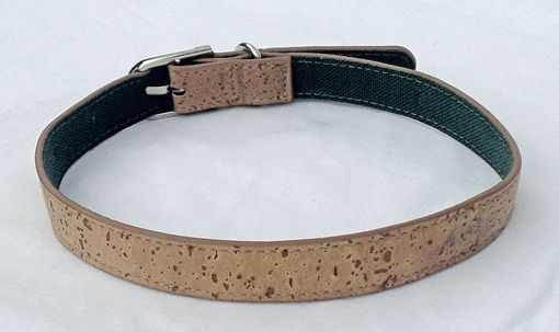 Custom Made Cork Dog Collar