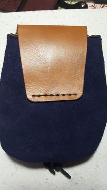 Custom Made Small Leather Belt Bag