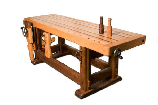 Custom Made Woodworking Bench
