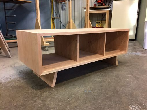 Custom Made Cherry Cocktail Table