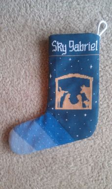 Custom Made Christmas Stocking 3 (Front Piece Only) (Custom Design)