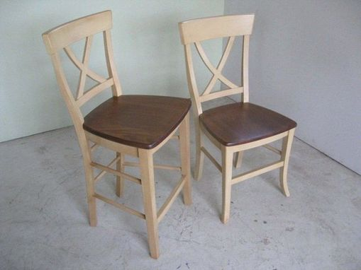 Custom Made Cross Back Style Dining Chair
